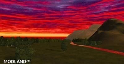 Red Evening Night Sky Mod [1.5.3], 1 photo